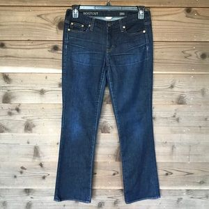 J. Crew Bootcut Jean in Classic Rinse Wash 28 S